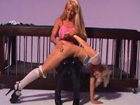 Sesso selvaggio con una schiava sessuale